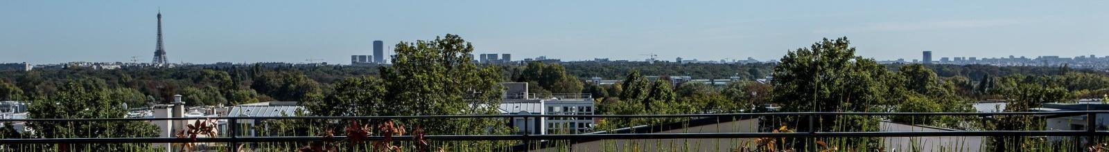 Atrium Hotel Suresnes - Aussicht