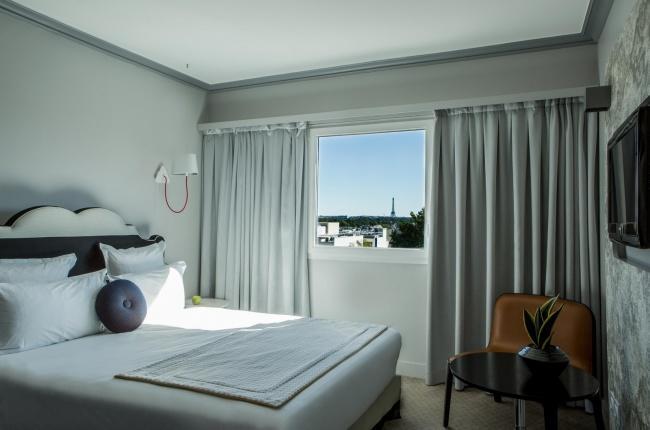 Hôtel Atrium – Junior-Suite mit Eiffelturmblick