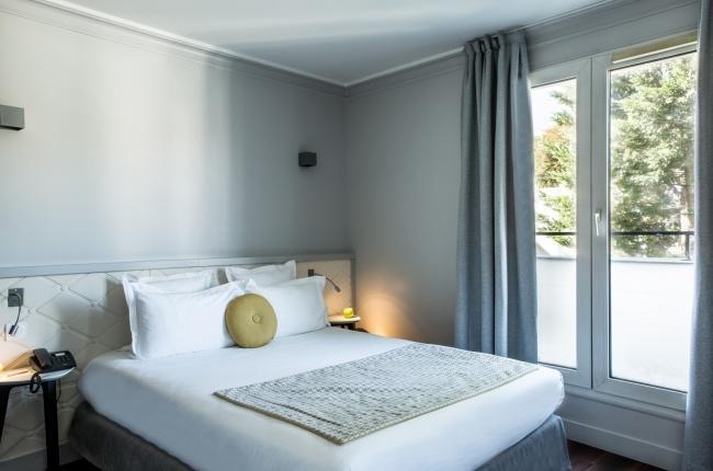 Hôtel Atrium – Klassik Doppel oder Zweibett